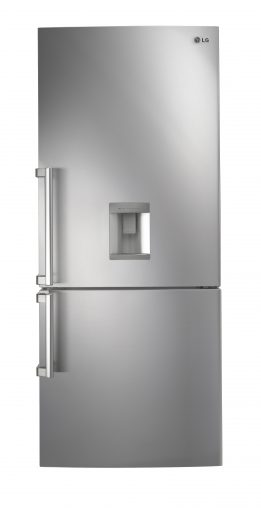 New refrigerators are great for business. This is LG's 450-litre bottom mount model.