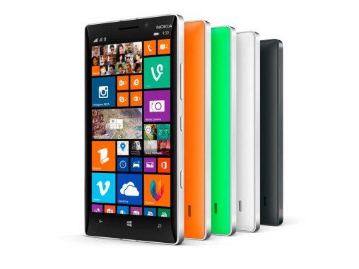 Aluminum unibody with polycarbonate back: Nokia Lumia 930