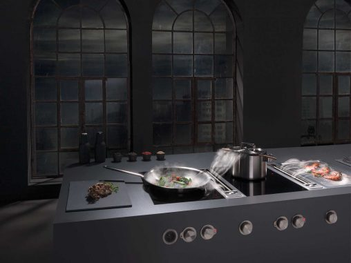 Bora Professional  The Professional system has solid stainless steel rotary control knobs that are quite a statement piece.