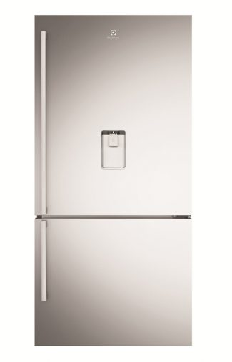 Electrolux 510-Litre Bottom Mount Refrigerator (EBE5167SD) features In-built Fresh Sense deodoriser designed to absorb strong odours (RRP $2,499).