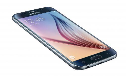 Samsung Galaxy S6 in Black Sapphire.